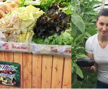Ghereta de fructe, zarzavaturi și legume, a unei moldovence din Parma, printre cele mai cotate din regiune