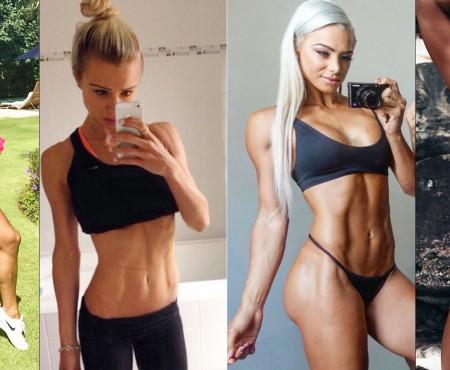 """Sportul și alimentele sănătoase i-au sculptat un corp incredibil: """"Fiți sănătoase, puternice și feminine!"""""""