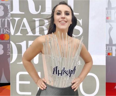 Câștigătoarea Eurovisionului a fost una din cele mai frumoase apariții de la Brit Awards 2017!