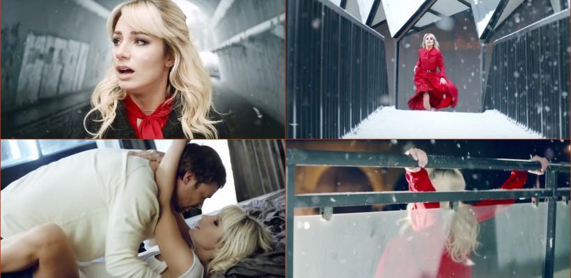 Scene fierbinți și lacrimi! De Valentine's Day, Natalia Gordienko își prezintă clipul filmat la Moscova (VIDEO)