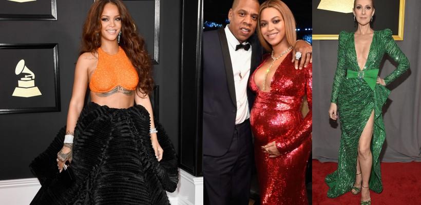 Admiră cele mai fabuloase ținute de pe Red Carpet la Gala premiilor Grammy 2017 (FOTO)