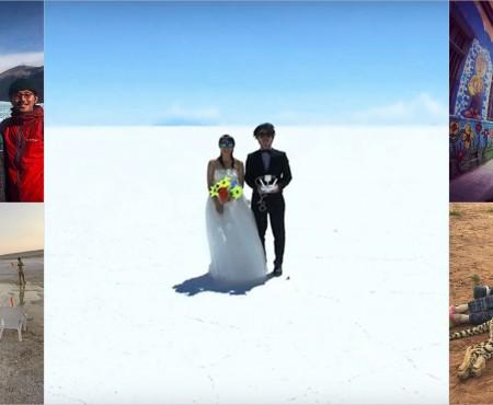 Luna de miere a unui cuplu din Japonia a durat 400 de zile! Admiră filmul acestei aventuri (VIDEO)