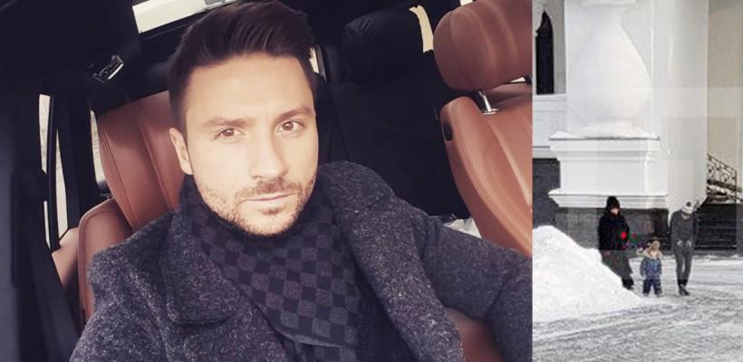 Sergey Lazarev și-a realizat un tatuaj în cinstea fiului său, ținut în secret preț de aproape 3 ani
