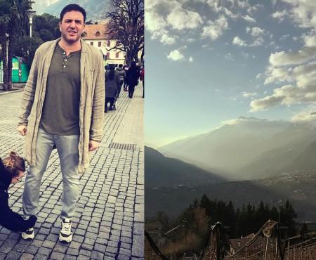 Kseniya Sobchak și Maksim Vitorgan au savurat o vacanță romantică în munți (FOTO)