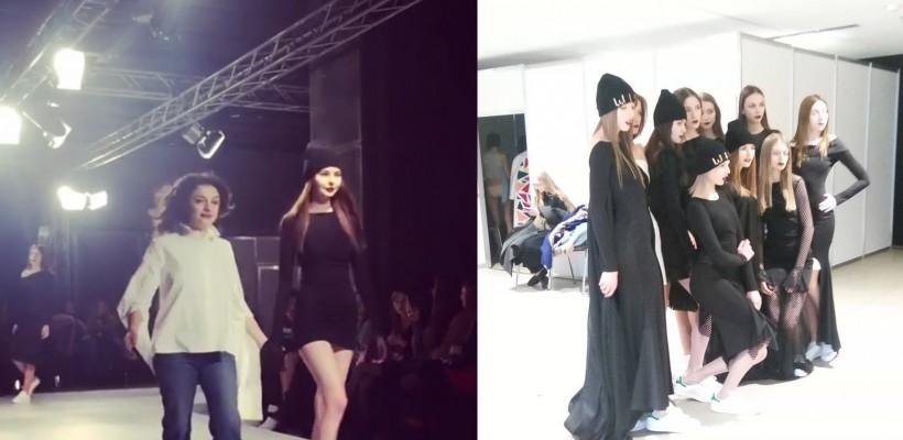 Designerul basarabean Ludmila Corlăteanu și-a prezentat o colecție de haine la Zilele Modei de la Kiev