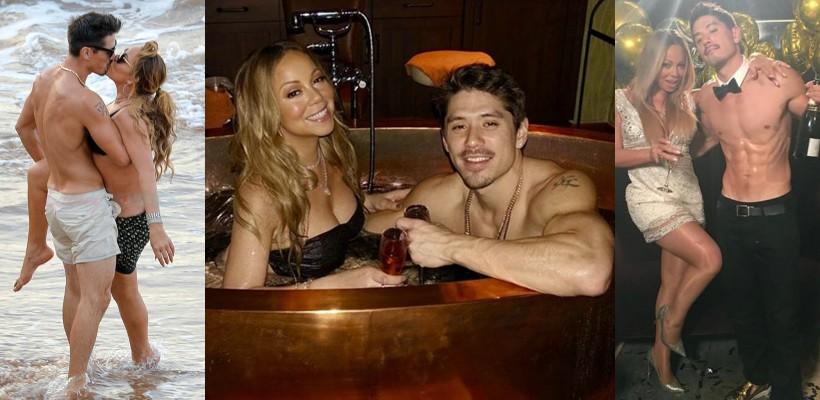 După ce și-a ars rochia de mireasă, Mariah Carey și-a găsit iubirea în brațele unui dansator din trupa ei