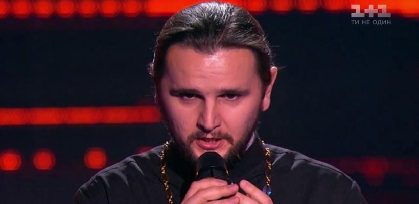 I-a făcut pe toți să plângă de emoție! Un preot a lăsat mască jurații de la Vocea Ucrainei (VIDEO)