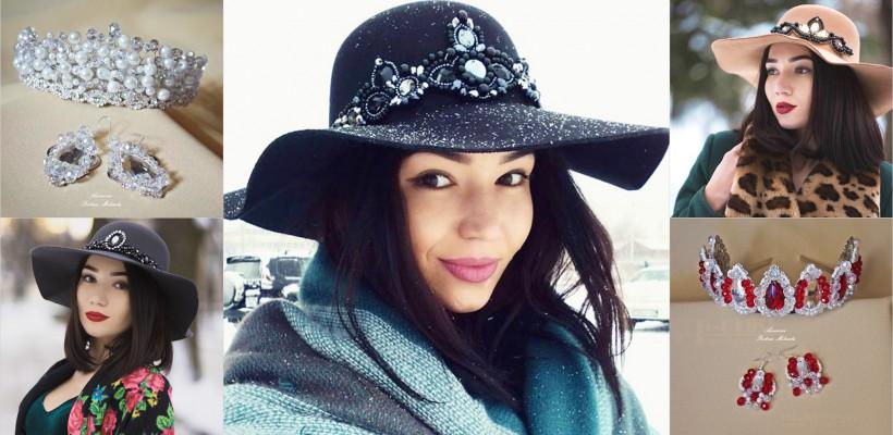 Mihaela Postica – meșterița din Chișinău care provoacă femeile să poarte coroane și pălării decorate handmade