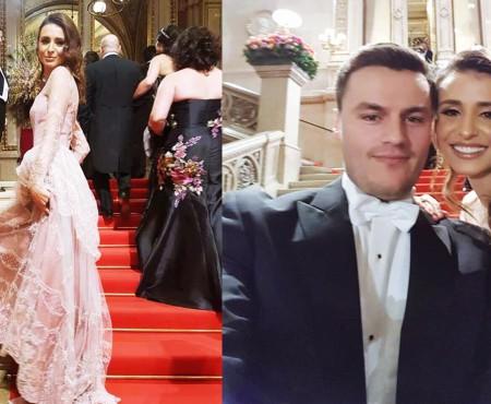Valentina Nafornița – una dintre cele mai elegante prezențe de la anualul Vienna Opera Ball (FOTO)