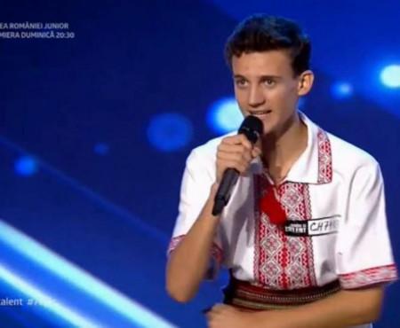 """Gabriel Nebunu din Cahul, la """"Românii au talent"""": Toată țara e nebună"""