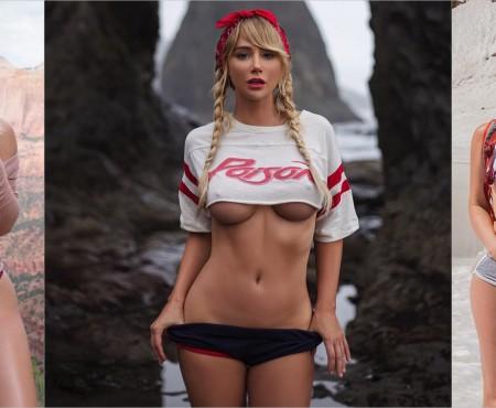 Turism și senzualitate! Un ex-model Playboy înnebunește internauții cu pozele sale din călătorii