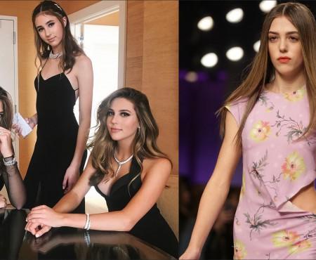 Fiica de 18 ani a lui Sylvester Stallone a debutat pe podium în cadrul London Fashion Week