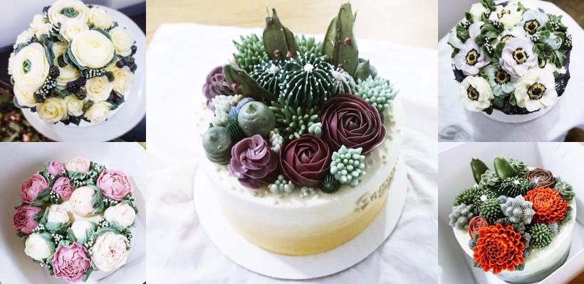 Par a fi flori vii? Aceste creații sunt deserturi delicioase, gătite de către o cofetară din Brooklyn