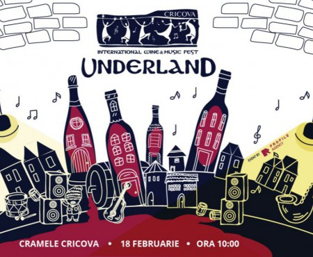 Underland te așteaptă în această sâmbătă