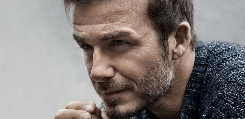 Fața lui David Beckham a fost desfigurată (Foto)