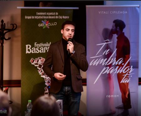 """Romanul """"În umbra pașilor tăi"""" a fost lansat la Cluj-Napoca în cadrul Festivalului Cultural Basarabia"""
