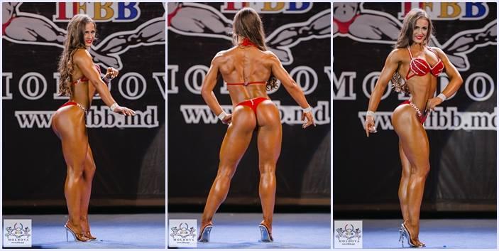 Leo Ciobu, zeița cu mușchi, va lupta pentru titlul de campioană la fitness bikini