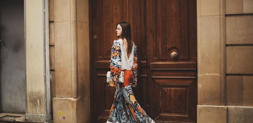 """O moldoveancă de 18 ani, invitată la Paris Fashion Week în calitate de fashion blogger: """"A fost un vis devenit realitate!"""""""