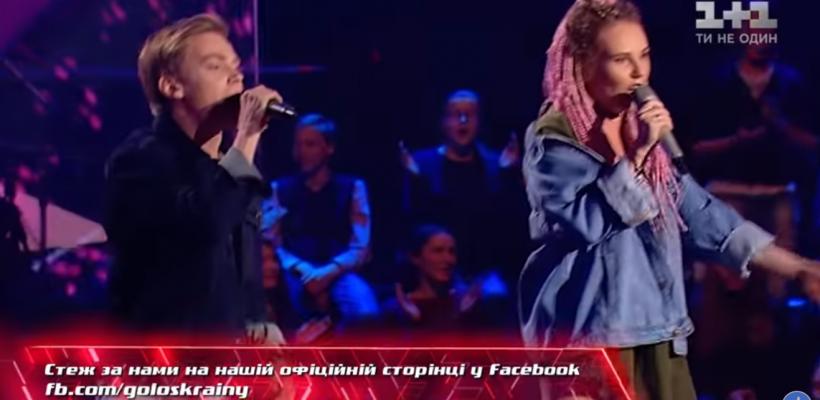 """Doi concurenți de la """"Vocea Ucrainei"""" au cucerit jurații cu piesa """"Sub pielea mea""""! Vezi prestația acestoria (VIDEO)"""