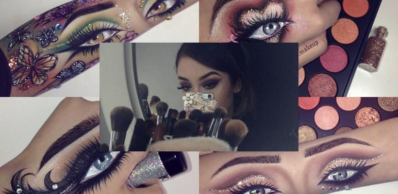 O makeup artistă revoluționează lumea machiajului cu o nouă tendință! Lucrările ei au devenit virale în mediul virtual