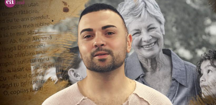 """Igor Sîrbu aduce mamei un omagiu. """"Privesc la mama"""" – o poezie care trezește fiori (Video)"""