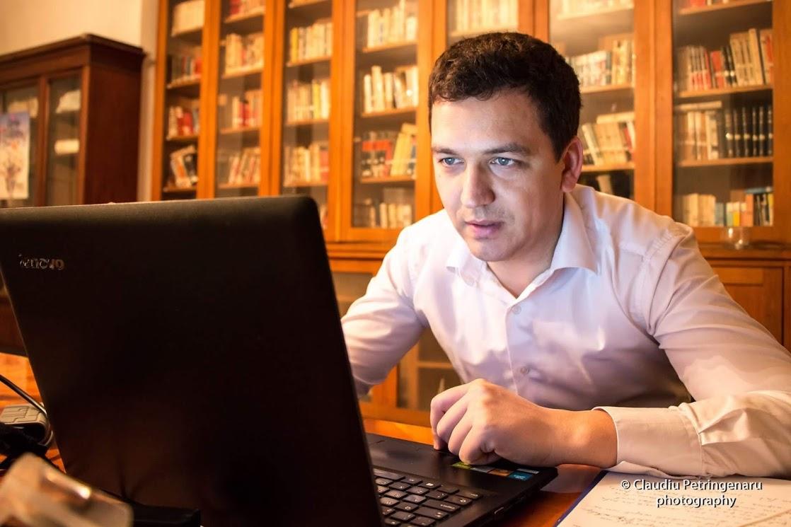 Vitalie Cojocari din satul Cuizăuca, reporter ProTV în București, despre accentul moldovenesc și nu numai
