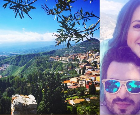 Pasăre călătoare! Anastasia Ursu și-a marcat a 30-a aniversare, descoperind coasta de Est a Siciliei