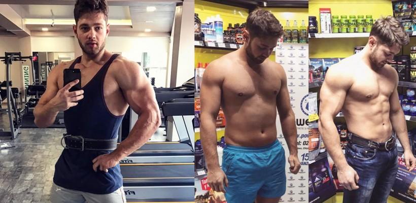 Anatolie Jalbă – tânărul care ne-a reprezentat țara la Mister World, a devenit imaginea unui brand