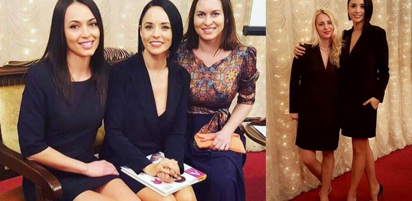 Andreea Marin, apariție stilată și inspirată la Chișinău! Vedeta TV le-a dat o nouă întâlnire fanelor