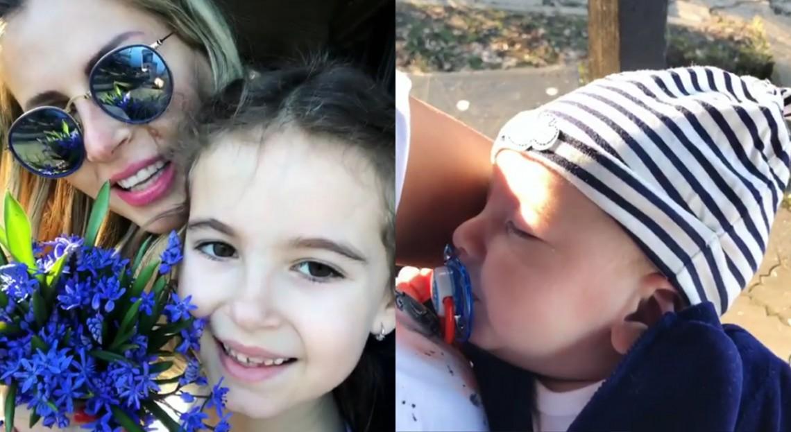După ce a lansat o piesă de vară, Andreea Bănică petrece timpul în compania celor mai dragi ființe din viața sa (VIDEO)