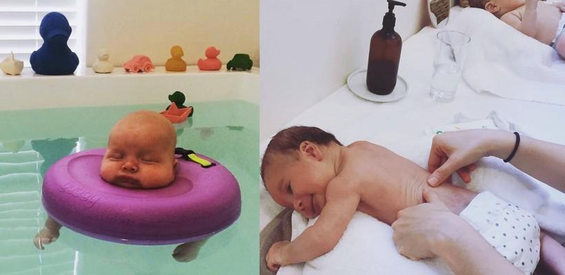 Raiul bebelușilor! Cum arată primul salon de SPA, destinat micuților de până la jumătate de an