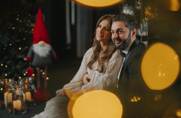 Se iubesc ca în prima zi! Cum au fost surprinși Adrian Ursu și soția sa, Irina Negară