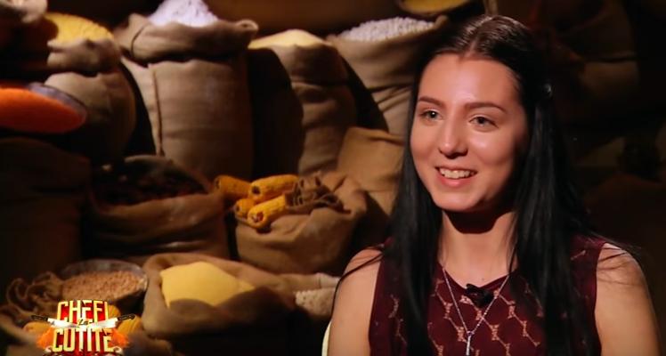O chișinăuiancă de 19 ani a cucerit jurații unui show culinar din România cu un preparat din bucătăria moleculară