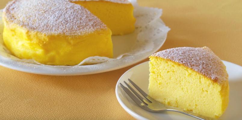 Cheesecake japonez – desertul cu cea mai simplă rețetă din lume! Ai nevoie de doar trei ingrediente