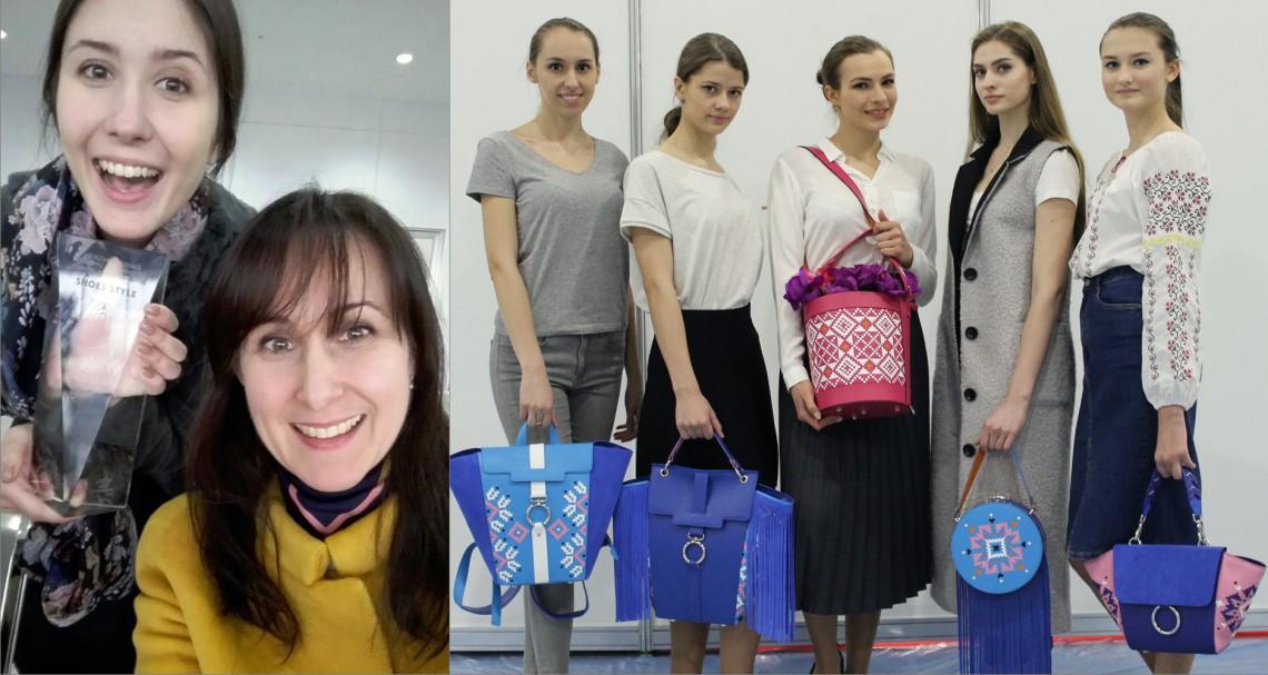 """O moldoveancă înscrisă la studii în Rusia a învins, cu o colecție de genți handmade, la """"Shoes – Style 2017"""""""