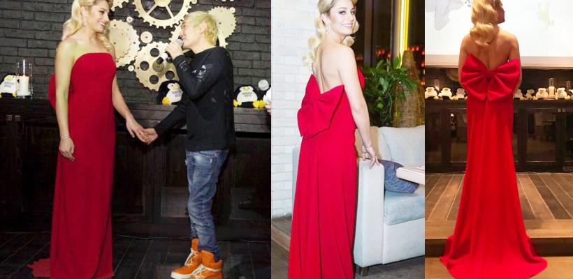 Cine e stilistul care a conceput outfit-ul afișat de Natalia Gordienko la Moscova (FOTO)