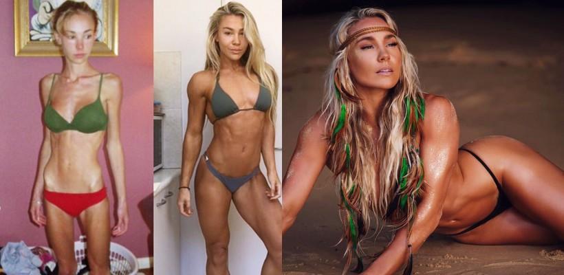 """Fitness model: """"Pe cine nu se iubește, nu îl ajută nici sportul și nici dietele!"""""""