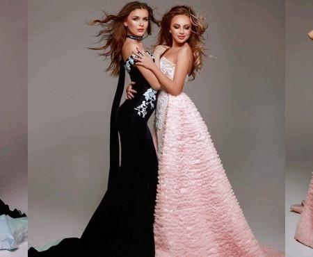 Viorela Dimici și Adela Prisăcari, cuceritoare în rochiile care le-au adus victorie la Miss Humanity Universe 2016