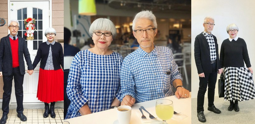 Un cuplu din Japonia poartă zi de zi ținute asortate, deja de 37 de ani! (FOTO)