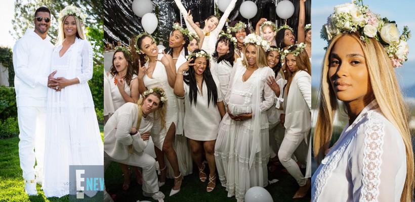 Barza e foarte aproape! Ciara a organizat un Baby Shower de excepție pentru al doilea copil