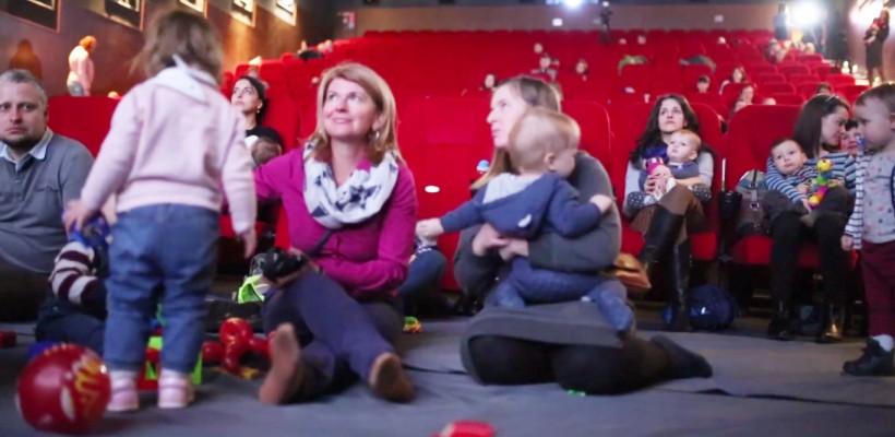 (0+) La cinema, în compania bebelușilor! Cine sunt părinții care au testat premiera (VIDEO)