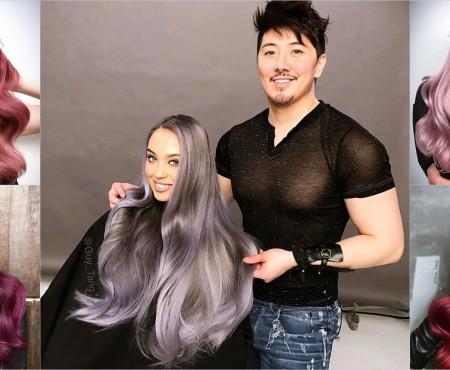 Nu știi ce culoare de păr să încerci în 2017? Inspiră-te de la un haircolorist cu 2 mln de fani virtuali