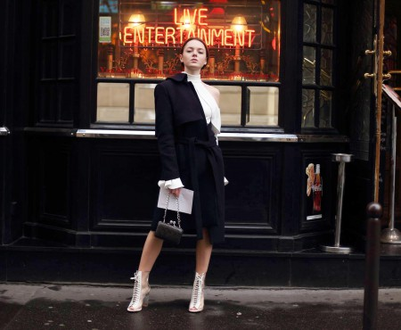 Corina Bîrcă – moldoveanca de 19 ani, invitată la Paris Fashion Week, și-a lansat propriul blog