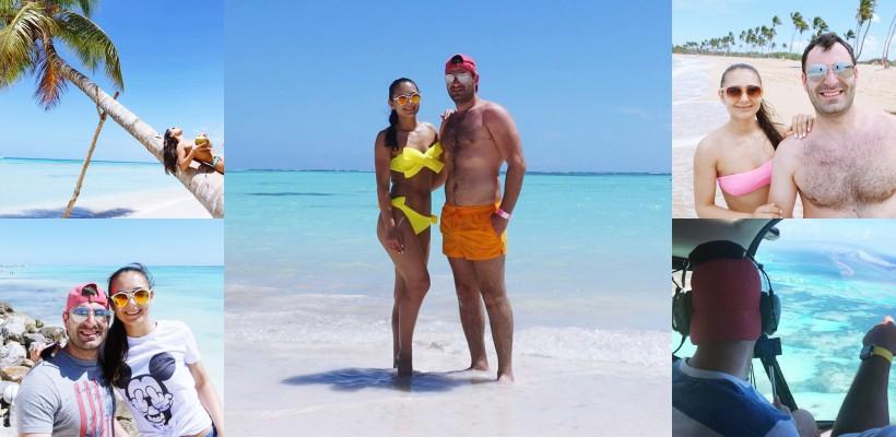 """Un cuplu de basarabeni, după o vacanță de vis în Republica Dominicană: """"A fost dragoste la prima vedere!"""""""