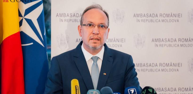 """Ambasadorul României, Daniel Ioniță, despre praf, reclame în rusă și moldoveni: """"Am avut plăcerea ca după ani să văd un oraș transformat"""""""