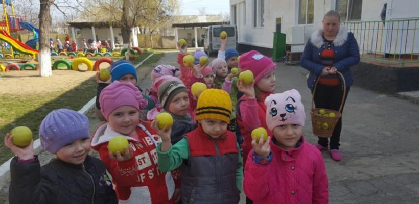"""Campania """"Coolege Vitamine"""" ajunge în școlile și grădinițele din afara Chișinăului!"""