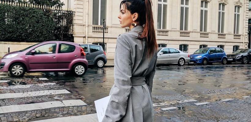 Doina Ciobanu: street style parizian în ținutele unui designer din România (FOTO)
