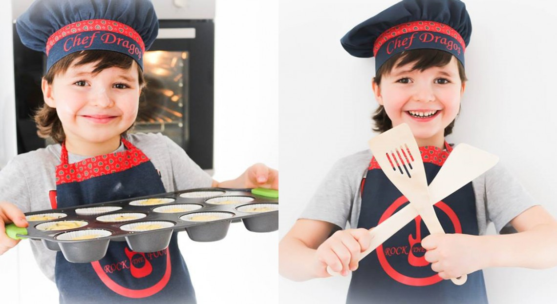 La doar cinci anișori face minuni în bucătărie! Dragoș, fiul jurnalistei Aura Revenco prezintă rețeta celor mai apetisante brioșe cu ciocolată (VIDEO)