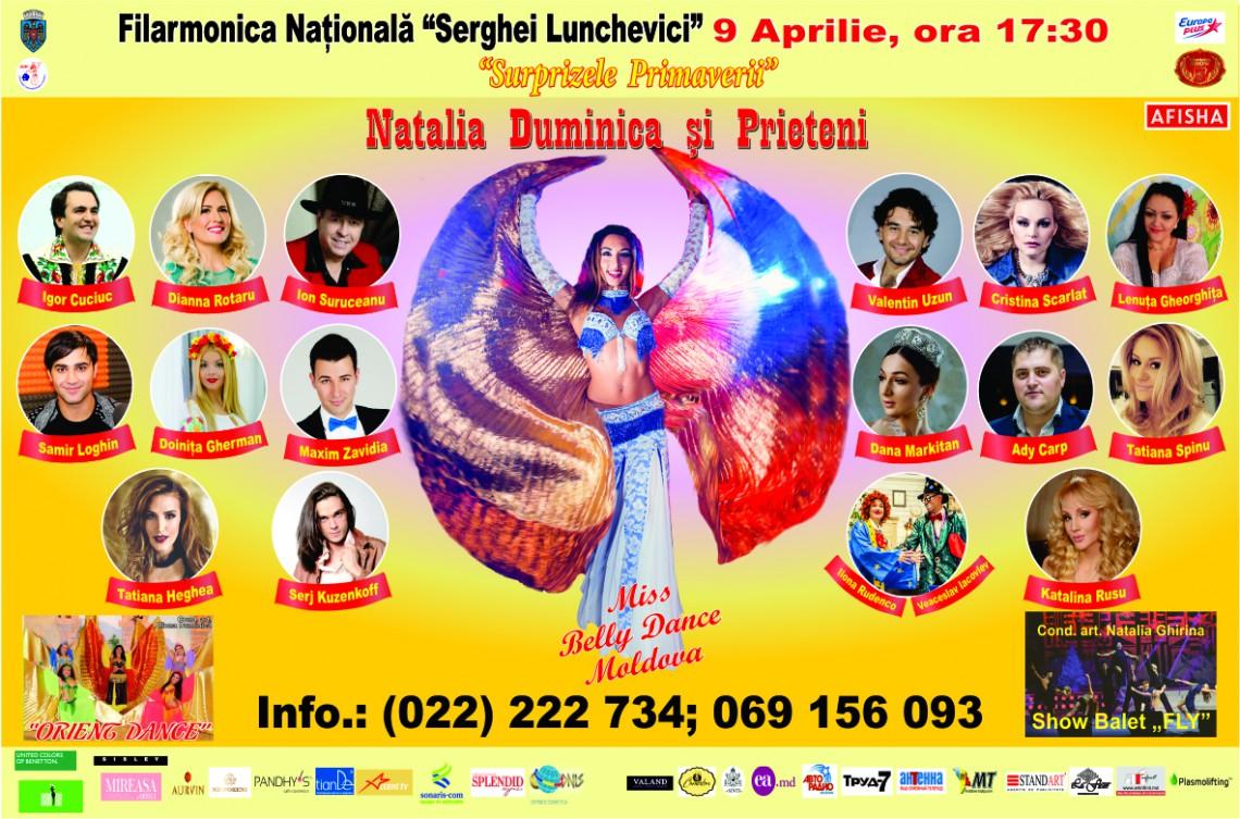 Natalia Duminică își invită admiratorii la un concert grandios, cu scop caritabil. Iată detalii