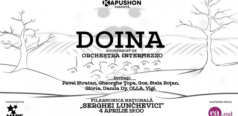 """""""DOINA"""" – concert organizat de Kapushon cu ocazia lansării noului său album"""